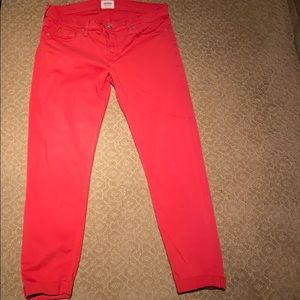 Red Hudson skinny jeans size 28